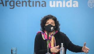 La ministra Vizzotti negó que exista circulación comunitaria de la variante Delta